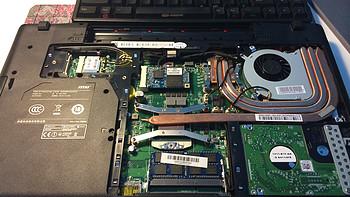 聊一聊 MSI 微星 GE60 2OE-218XCN 15.6英寸游戏本,加装SSD
