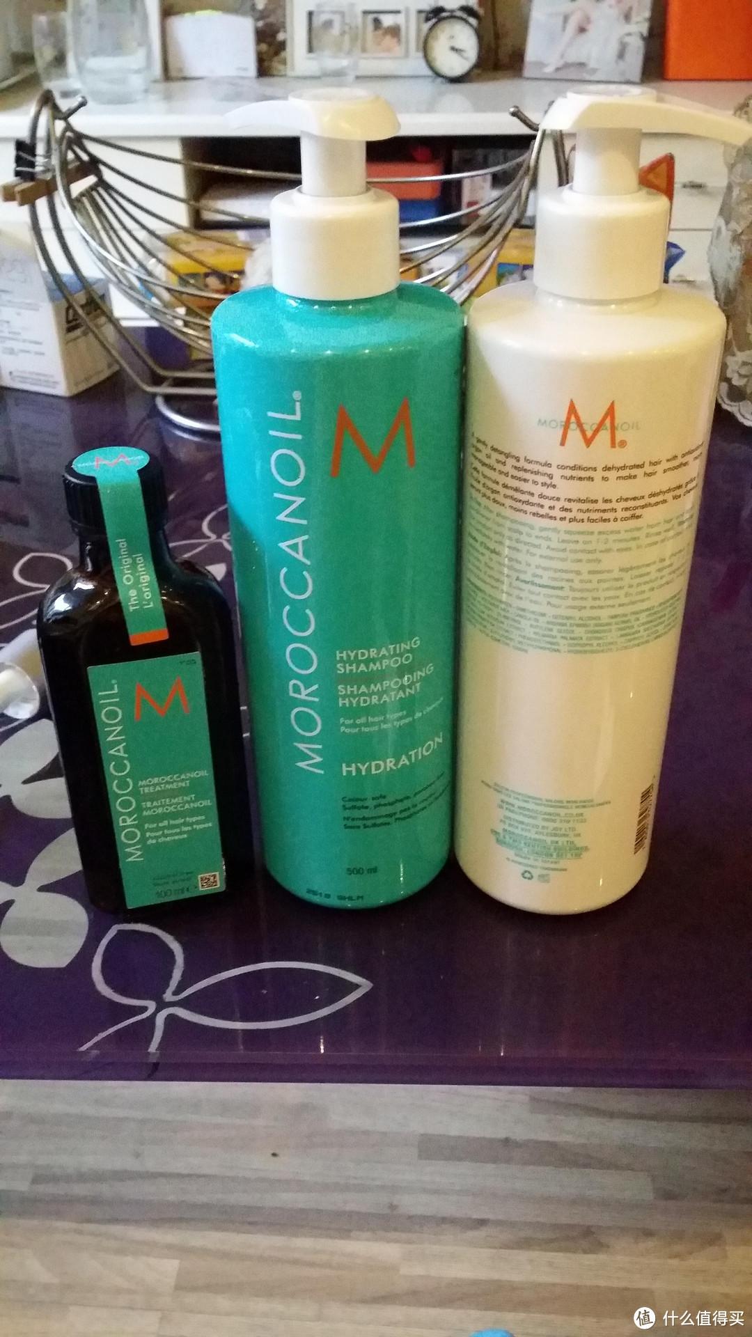见证奇迹的时刻!英淘 MOROCCANOIL  摩洛哥 护发精油、洗发水、护发素