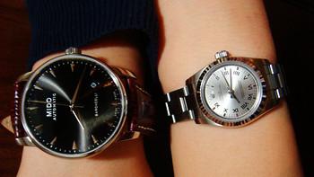 晒一下机械控LD的手表们:Seagull 海鸥 & MIDO 美度 贝伦赛丽 & 换鲨鱼皮表带的ROLEX 劳力士