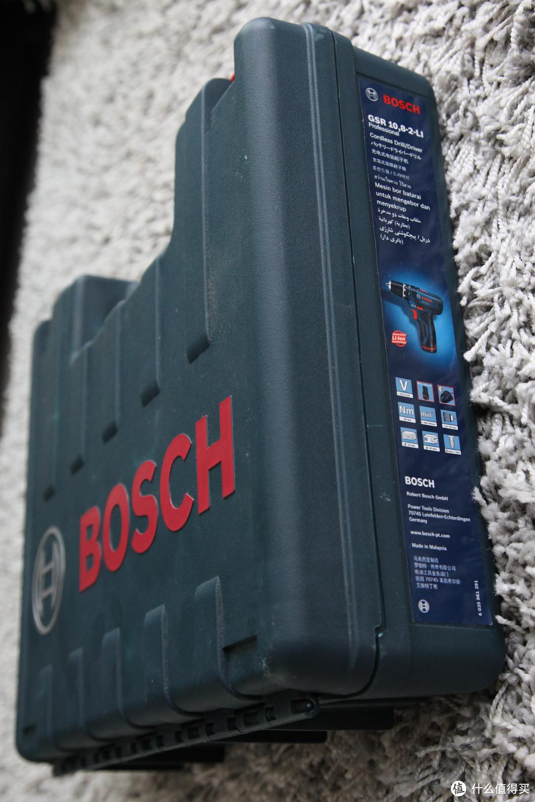 BOSCH 博世 GSR 10.8-2-LI Professional 充电式电钻起子机 & 小旋风批头套装