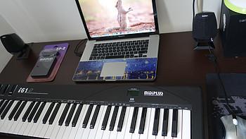 MIDIPLUS 美派 I61 MIDI 键盘 — 入门级的钢琴练习设备