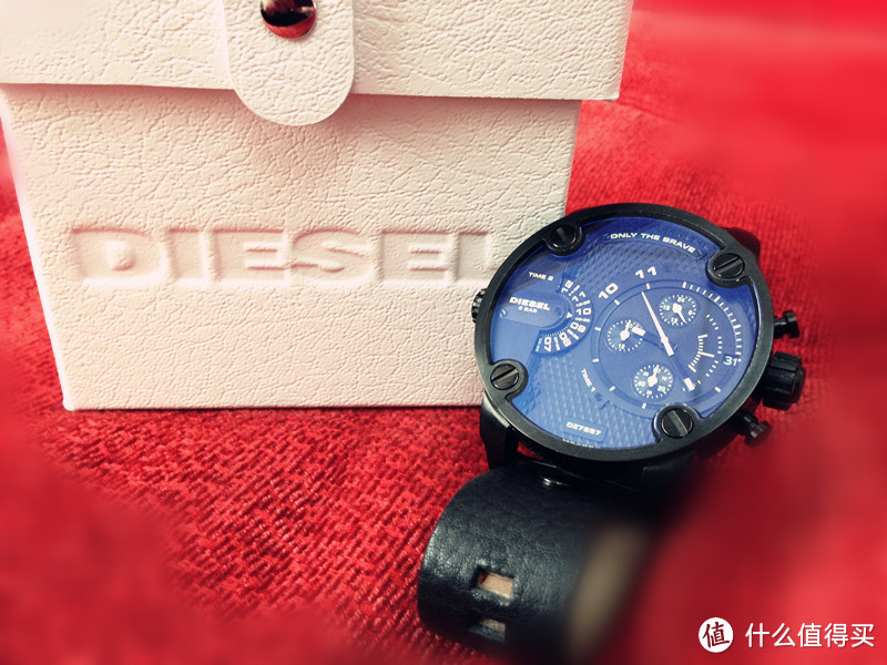 酷爱大盘:《危情三日》同款 Diesel 迪赛 ONLY THE BRAVE DZ7257 男款石英腕表