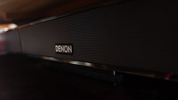 小客厅平板电视音箱的绝配:DENON 天龙 soundbar DHT-S412 声吧