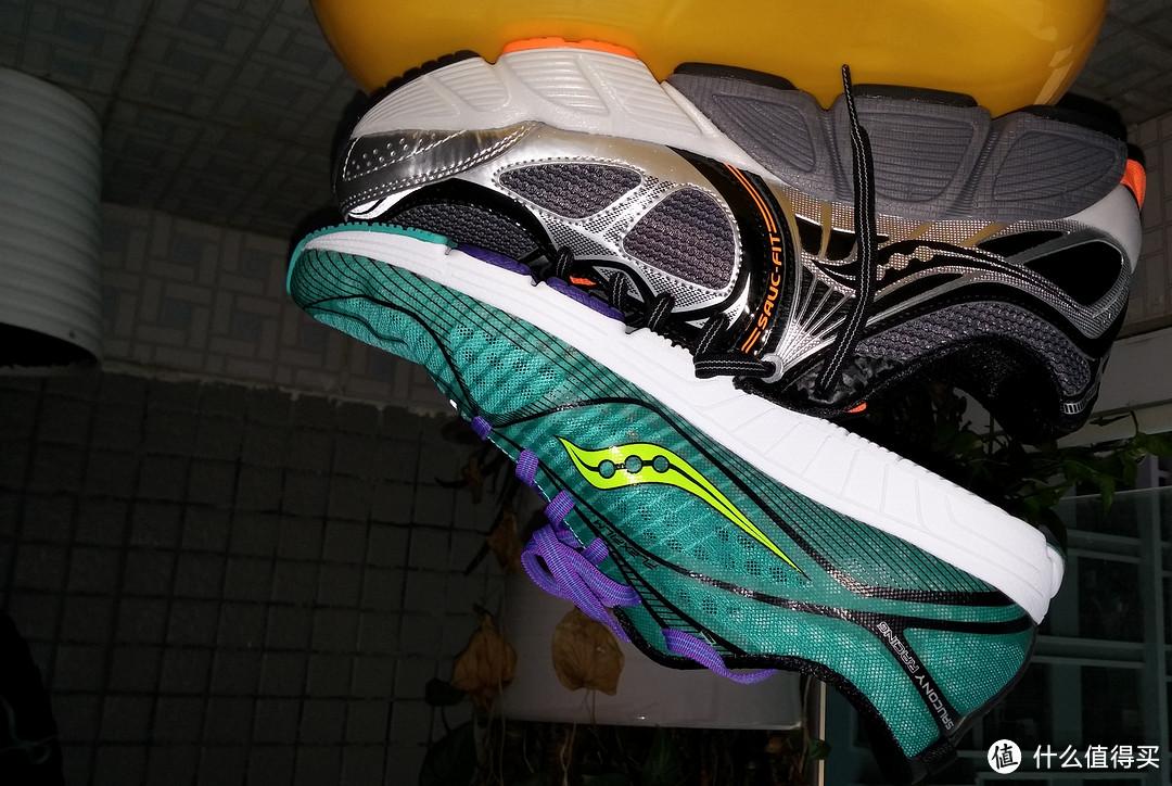 非一般的感觉——Saucony 索康尼 男款STABIL CS3休闲跑步鞋和TYPE A6运动跑鞋