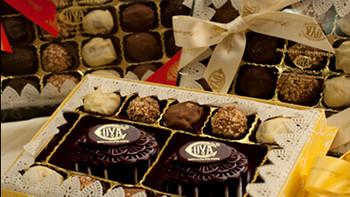 COVA 新推两款中秋节月饼礼盒 软滑巧克力+香脆果仁