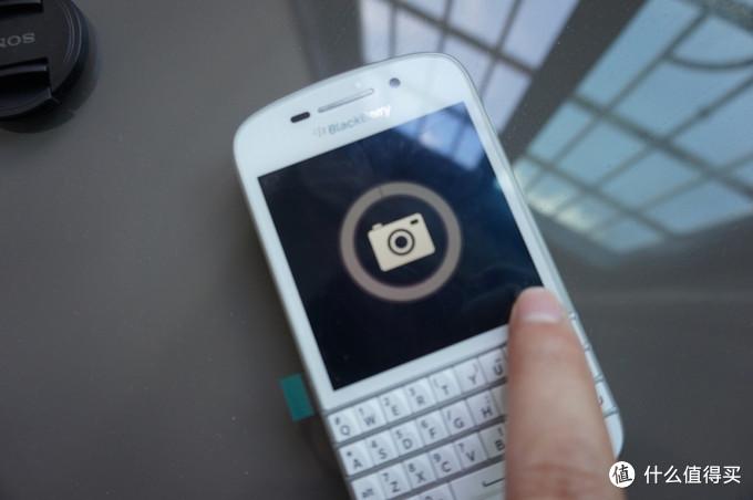 脑残粉入手BlackBerry 黑莓 Q10 智能手机 白色