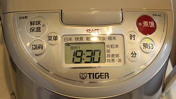 虎牌 JKW-A10C IH电饭煲使用总结(预约|烧菜|开锅|时间)
