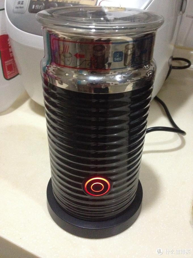 懒人的福音:Nespresso Aeroccino 3  奶泡机
