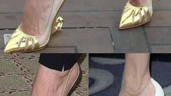安吉丽娜·朱莉与 Christian Louboutin 合作设计沉睡魔咒高跟鞋 MALANGELI