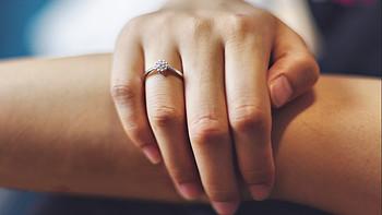 小白测评《珂兰钻石 倾城 18K白金 钻石戒指》