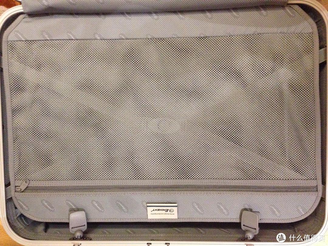 简约低调:EMINENT 雅士 9D7 黑铁银 25寸 PC拉杆箱 商务拉杆箱