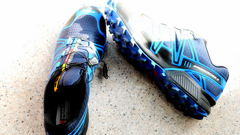 Salomon 萨洛蒙 SPEEDCROSS 3 男款越野跑鞋 骚蓝版