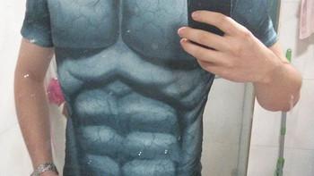 谁说身材好才能穿紧身衣?Under Armour 漫威系列 男款短袖T恤