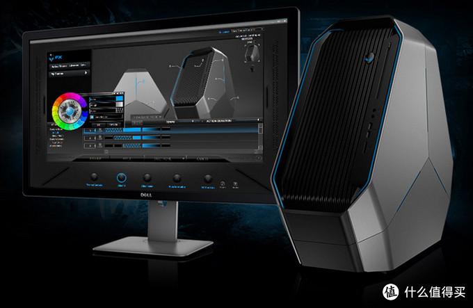 搭载Haswell-E:戴尔发布三角造型新款外星人游戏 PC Area 51