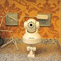 看家利器:FOSCAM福斯康姆  EH8135 wifi网络摄像机 简单开箱测试