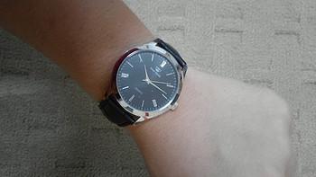 一个安静美Diors的自白:王府井百货定制款 TIAN WANG 天王 男士皮带腕表
