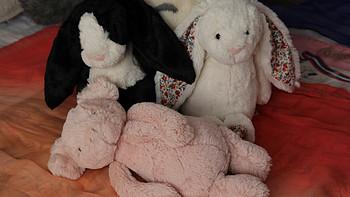 两只兔子和一只猪的故事:海淘 Jellycat 毛绒玩具