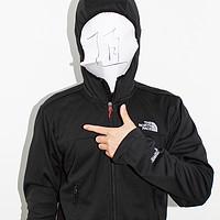 秀出你的朕值脸:The North Face 北脸 Cipher Hybrid Hoodie Jacket 防风软壳