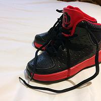 蜈蚣的一家—女鞋/童鞋 篇六:玫瑰归来兮:实体店入手 adidas 阿迪达斯 Rose 3.0 Kids 儿童运动鞋