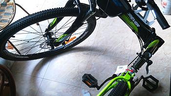 开启骑行生活第一步:FOREVER 永久 26寸 24速 可折叠 山地车 QJ006D