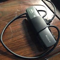 SONY 索尼 NWZ-WS615/B 头戴式运动型蓝牙MP3播放器