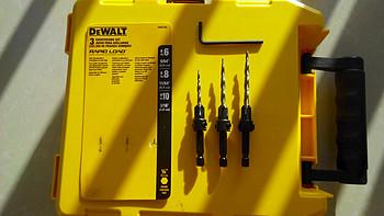家居必备 篇三十三:DEWALT 得伟 DW2535 3 Piece Countersink Assortment埋头钻头套装