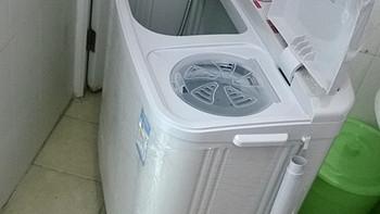 终于结束了手洗日子,迎来双缸洗衣机:Midea 美的 MP70-V606