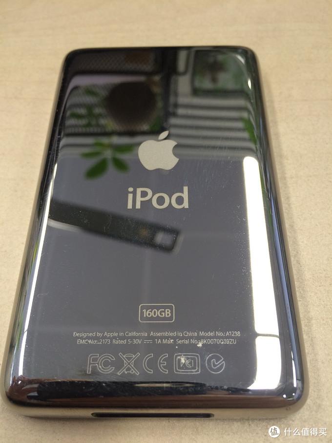 满血复活!iPod Classic 播放器 更换SSD