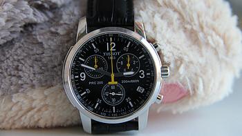一见钟情:  TISSOT 天梭 PRC200系列 男士腕表