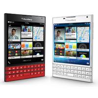 比黑色好看:黑莓 方形屏 Passport 手机 红色 / 白色款美亚开卖
