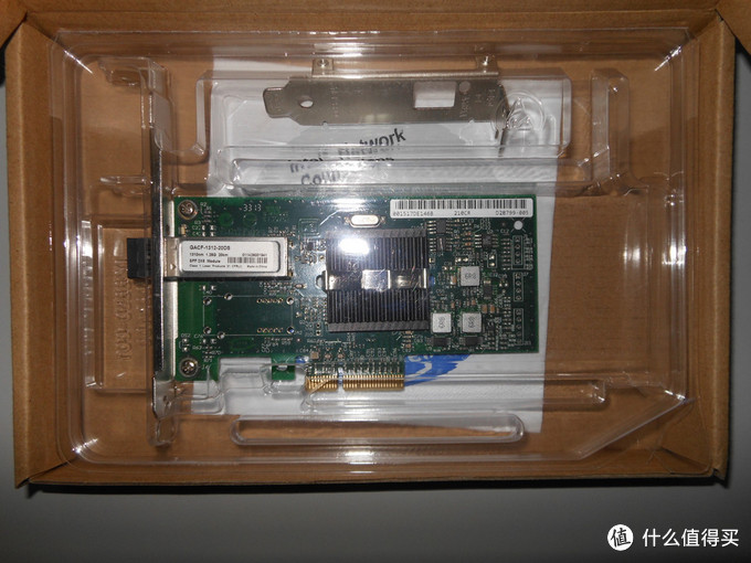 入门级光纤网卡:Intel 英特尔 9400PF-LX 光纤网卡