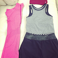 瑜伽、普拉提、跑步机装备 — lululemon、Victoria's Secret、Beyond Yoga、juicy couture、鬼冢虎、Manduka