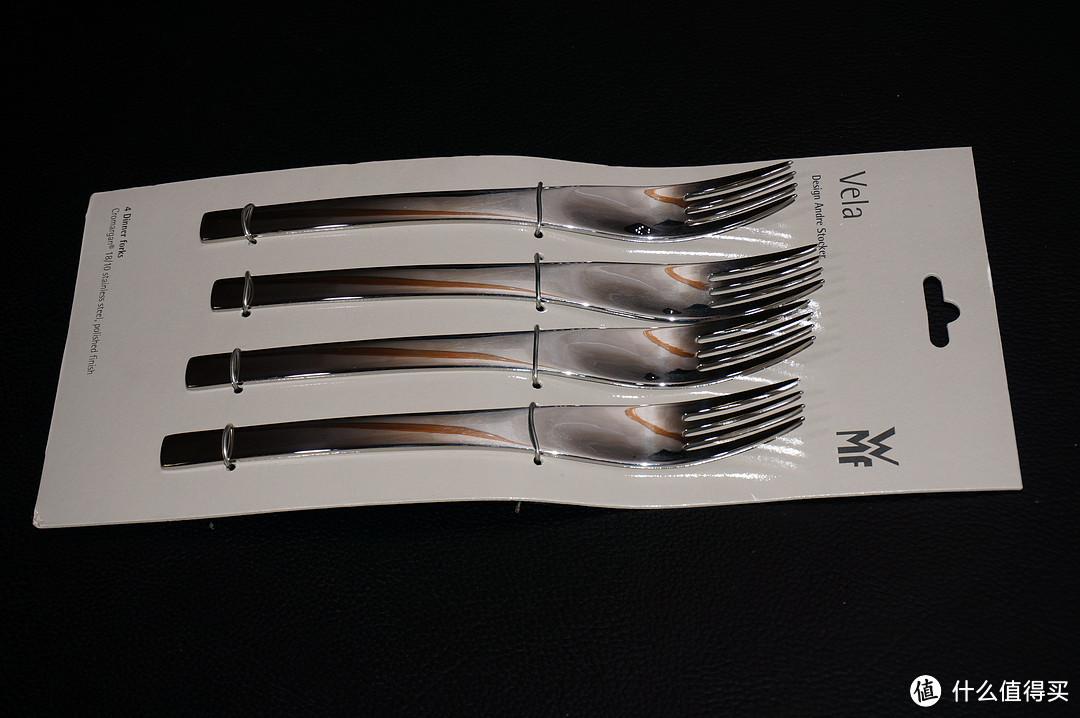 刀叉勺和老婆都有了,就差牛排了:GILT白菜价 WMF 完美福Vela Flatware Set 餐具20件套
