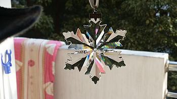 大到没朋友:Swarovski 施华洛世奇 2014年新款 水晶雪花挂饰