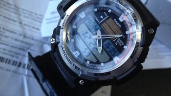 CASIO 卡西欧 SPORTS 系列 电子石英男表 SGW-400H-1B
