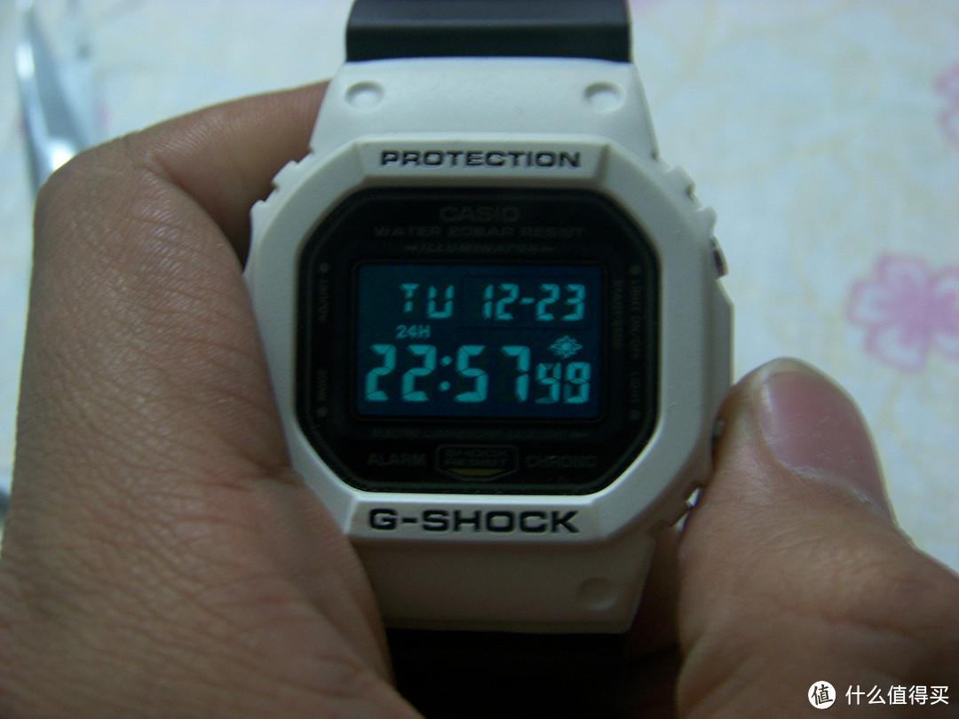 教你提升表(bi)格:CASIO 卡西欧 经典 g-shock 5600 改装反显