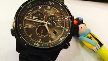 美亚直邮 CITIZEN 西铁城 Nighthawk 夜鹰系列 AT4117-56H 男士光动能表腕表