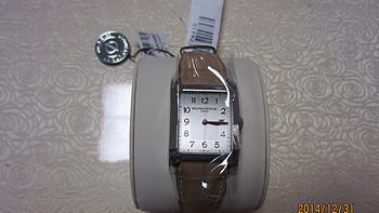 迟到的礼物:Baume & Mercier 名士 Hampton系列 女士皮带腕表 MOA10081
