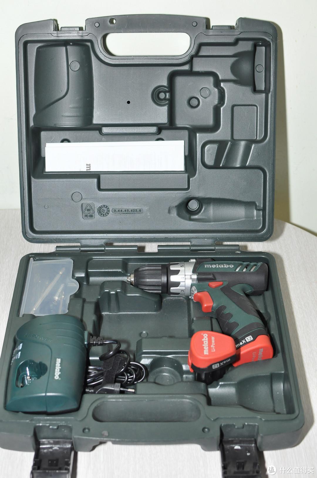 DIY工具之:麦太保 Powermaxx12 10.8v 充电扳手 手钻