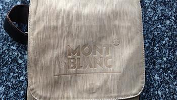 【ebay好物分享会】Mont blanc 万宝龙 男士单肩包