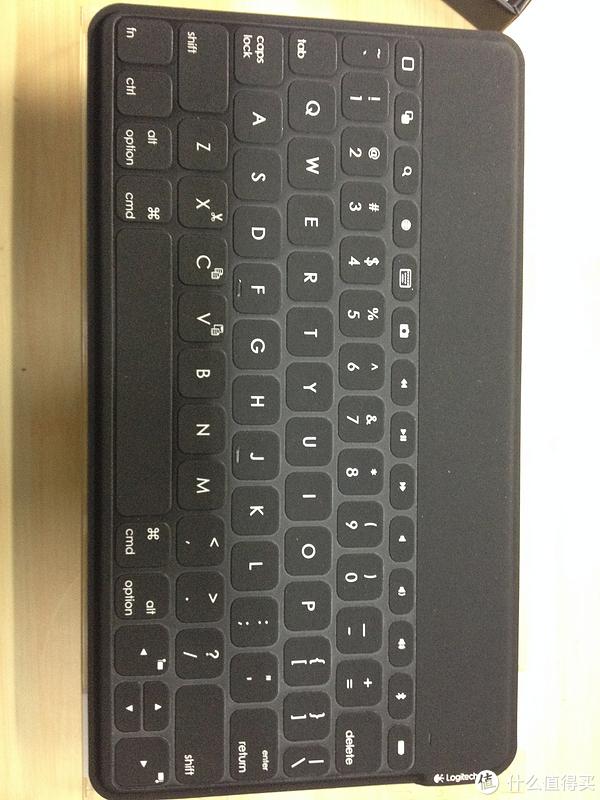 Ipad蓝牙键盘:Logitech 罗技 iK1041 晒开箱和测评