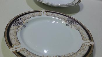 IJARL 亿嘉 剑林 金色维也纳 56头陶瓷 餐具套装