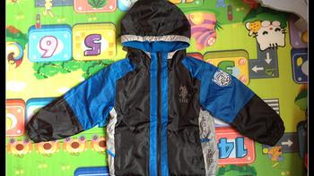 U.S. Polo Association 美国马球协会 儿童两面穿外套