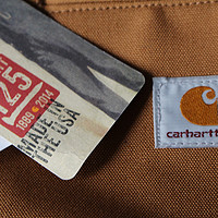 星际穿越脑残粉必备:Carhartt Weathered Duck Detroit 男款夹克