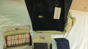 BURBERRY 博柏利  Signature 手提包、HAYMARKET CHECK 格纹长款钱夹、LONDON 皮革折叠式钱夹