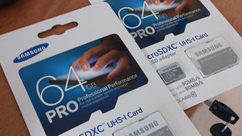 小身材大速度:SAMSUNG 三星 Micro SDXC PRO 64GB