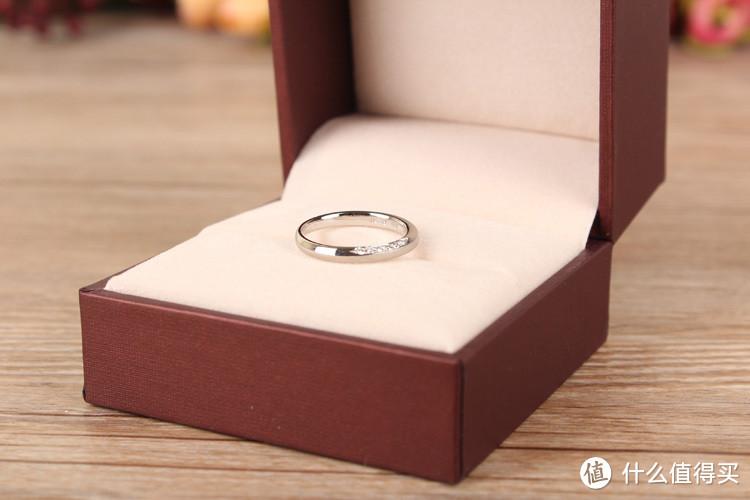 戒指已买好,可求婚呢?Chow Sang Sang 周生生 PROMESSA 系列 950鉑金戒指 85448R
