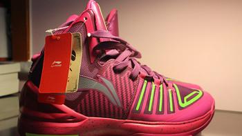 又一吸睛之作:LI-NING 李宁 闪击樱桃 后卫篮球鞋