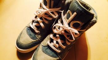 经典有格调:Adidas  阿迪达斯 JEREMY SCOTT INSTINCT HI DENIM SHOES 运动鞋