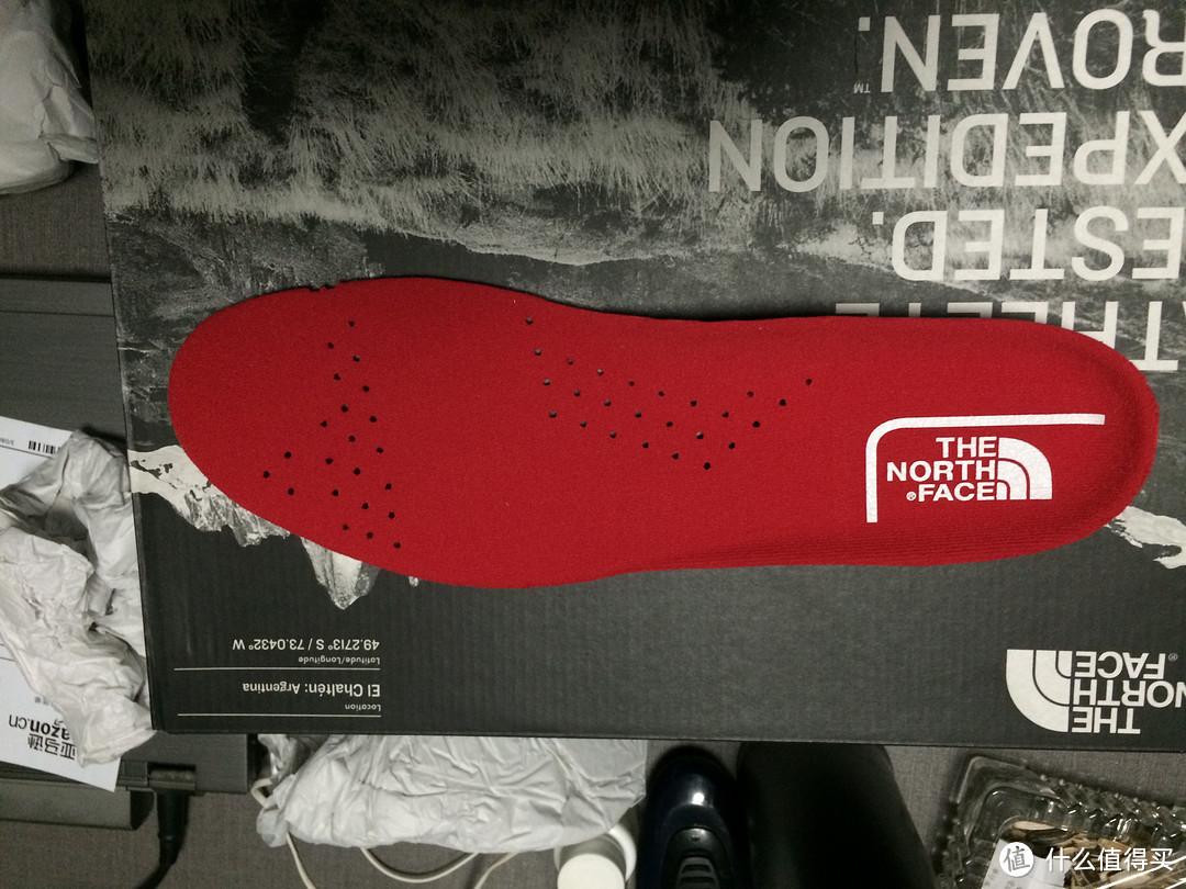 【终于入手北面】THE NORTH FACE 北面 男款徒步鞋 CV65